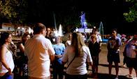 Recordaron el asedio de Paysandú con espectáculo nocturno. Foto: Archivo