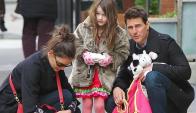 Suri Cruise. La hija de Toma y Katie Homes es referente en la moda infantil. (Foto: Google Images)