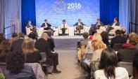 Reunión: El FMI y el Banco Mundial la celebran en Washington. Foto: FMI.
