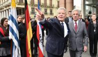Vázquez recibió a su par alemán Joachim Gauck. Foto: Presidencia