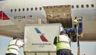 Diario. American Airlines dispone de vuelos diarios para la carga. (foto: Gentileza American Airlines)