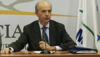 """""""Lamentablemente no avanzamos"""", dijo el legislador Javier García. Foto: Presidencia"""