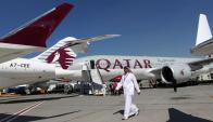 Conexión. Un vuelo entre Doha-Santiago tomaría 18 horas, pero hará escala en Río. (AFP)