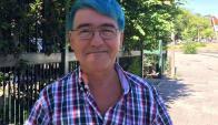 El jerarca podría ser sumariado por su color de pelo, que adquirió como protesta. Foto: Facebook .