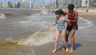 La alegría de sentir la ola romper (Foto: Fernando Ponzetto)