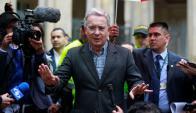 La campaña por el No la lideró el expresidente Uribe. Foto: Reuters