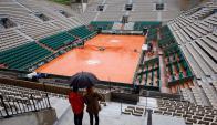 La lluvia no da tregua en Paris: Foto EFE