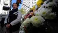 Rodolfo Reyes, florista (Foto: Fernando Ponzetto)