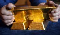 Lingote de oro. Foto: Archivo El País