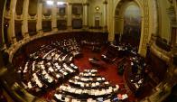 Parlamentarios gozan de fueros y la propuesta de Lacalle Pou genera polémica. Foto: G. Pérez