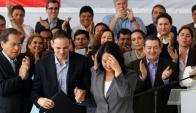 Keiko Fujimori reconoció su derrota en las elecciones presidenciales de Perú. Foto: Reuters.