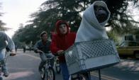 """Una inolvidable escena de """"ET"""". Foto: Difusión"""