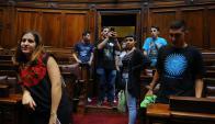 Uruguayos residentes en el exterior discuten esta semana sobre juventud. Foto: F. Ponzetto