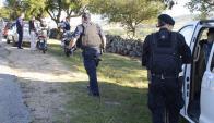 Tras robar una camioneta en una zona rural, delincuentes huyeron a pie. Foto: R. Figueredo