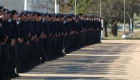 El ministerio del Interior dispone de una fuerza de unos 28.000 efectivos. Foto: D. Borrelli