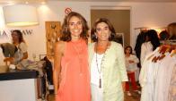Inés Arrosa, actual directora de la empresa, y Margara shaw.