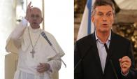 El Papa y Mauricio Macri están entre los más influyentes de la revista Time. Foto: EFE