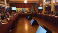 Ministros de América Latina reunidos por zika. Foto: Twitter @MSPUruguay