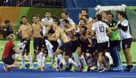 Dorados. La mejor participación de Los Leones había sido un quinto lugar hasta ayer. Foto: AFP