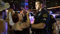 Tiroteo en protesta contra violencia policial dejó 5 agentes muertos en Dallas. Foto: AFP