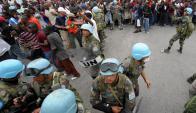 La imagen de las tropas uruguayas fue golpeada por un episodio de violación en 2011. Foto: AFP