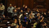 Diputados: los representantes oficialistas debatirán el asunto. Foto: F. Ponzetto
