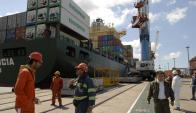 en octubre las exportaciones cayeron por tercer mes seguido. Foto: Archivo El País