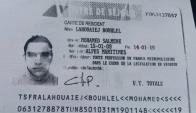 La identificación de Mohamed Lahouaiej Bouhlel fue encontrada dentro del camión. Foto: Policía de Francia.
