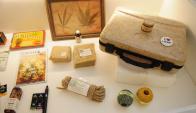 Usos: valijas, cuerdas y otros objetos realizados con cannabis. Foto: M. Bonjour
