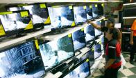 Bienes durables: vuelve a bajar la disposición a su compra. Foto: AFP