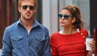 Eva Méndez y Ryan Gosling