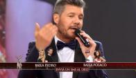 """Marcelo Tinelli hablando de los de los """"acomodos"""" (Foto: captura tv)"""