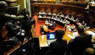 Políticos: parte del sistema se muestra dispuesto a exhibir sus bienes. Foto: M. Bonjour