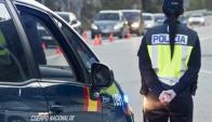 Hay un incremento del despliegue policial en las ciudades. Foto: EFE