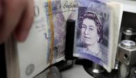 La libra sufre por el Brexit. Foto: Reuters
