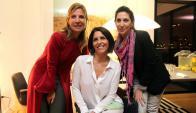 Verónica García Mansilla, Magdalena Reyes, Eugenia Moreno.
