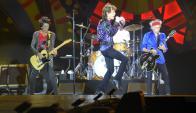 The Rolling Stones en el Estadio Centenario. Foto: Nicolás Pereyra