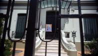 Polémica por la balconera católica en la residencia particular de Tabaré Vázquez. Foto: F. Ponzetto