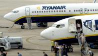 Líder. Ryanair es la aerolínea número en transporte de pasajeros en Europa.
