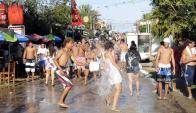 Carnaval de La Pedrera concentra el mator movimiento hacia Rocha. Foto. R. Figueredo
