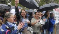 """""""Cincuentones"""" se movilizaron en los últimos días. Foto: Ariel Colmegna."""