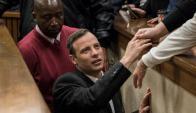 Cárcel. El campeón olímpico en Londres 2012 recibió ayer su sentencia. Foto: Reuters