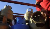 Garrafa de 13 kilos de supergás. Foto: Archivo de El País.