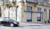 Sin cartel: el local está cerrado hace días pero sin anuncio. Foto: D. Borrelli