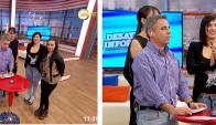 Majo y Vanesa juntas en televisión. Foto: captura