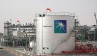 Nueva planta inaugurada en Arabia Saudita. Foto: AFP