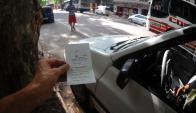 La IMM no quiere vehículos estacionados durante muchas horas. Foto: F. Ponzetto