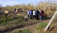 En 2015 ya había unas cien familias ocupando el terreno municipal. Foto: M. Bonjour