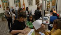 La votación será secreta, de 9:00 a 19:00 horas. Foto : archivo El País