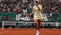 Muguruza va por repetir ante Serena. Foto EFE